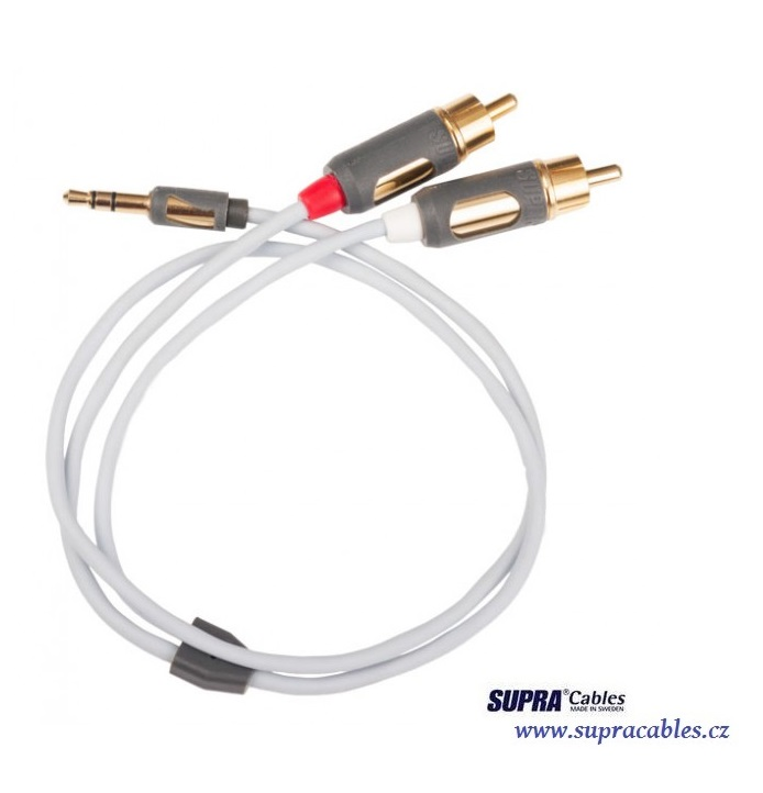 SUPRA MP-CABLE MINI PLUG-2RCA